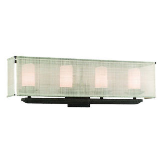 Troy Raffia 4-Light Vanity
