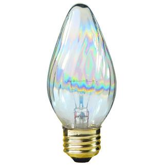 Satco S3369 F15 Aurora Colored Glass
