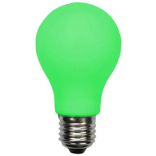Green LED A19 Bulb