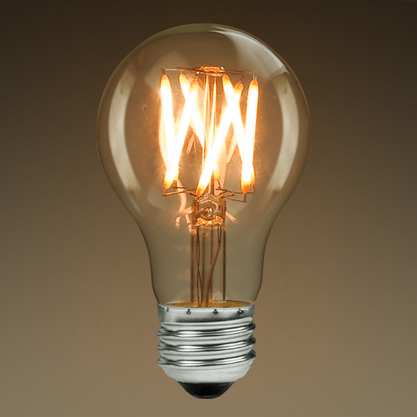 PLT antique A19 LED bulb