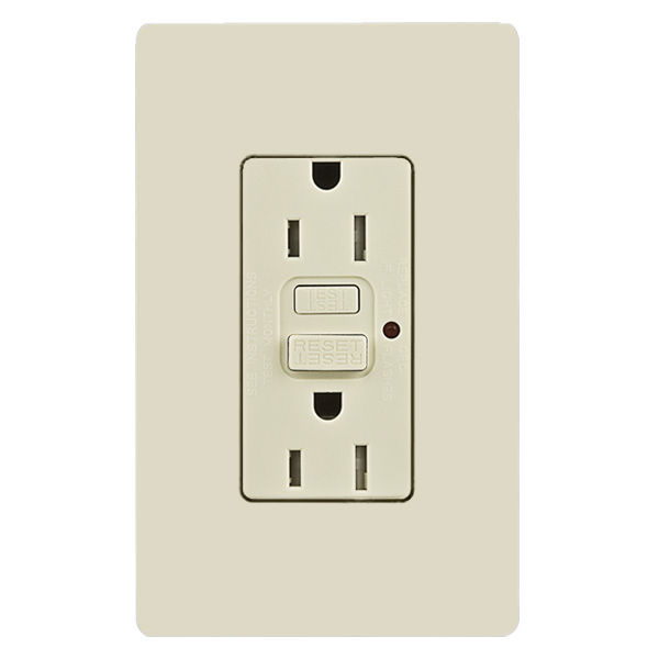 GFCI receptacle outlet