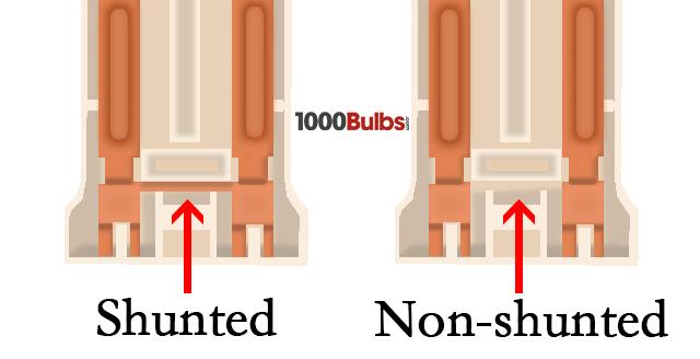 shunted vs non-shunted