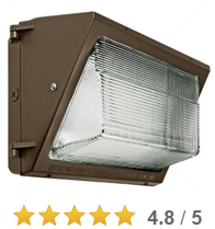 Read all 12 reviews . 165 Watt Equal LED Wall Pack