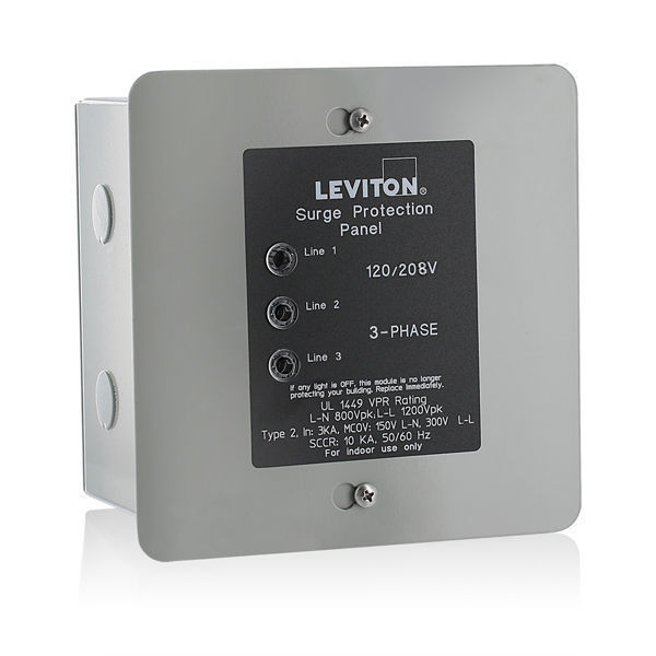 Leviton 51120-3 - Type 2 -AC Surge Protector