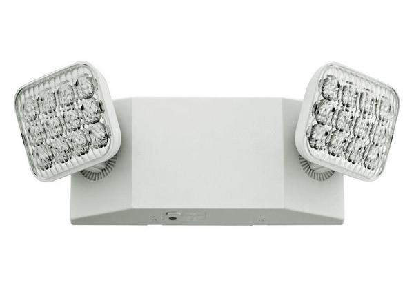 Emergency incandescent light fixture