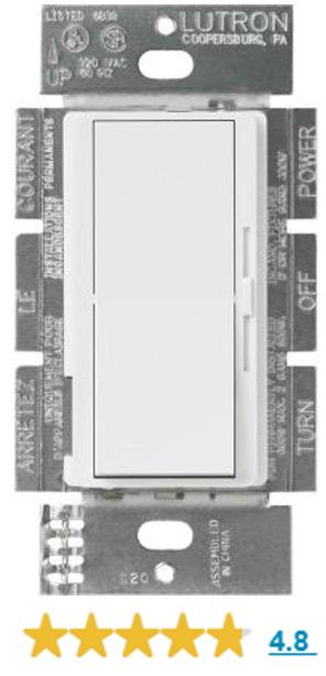 leviton illumatech ipi10-1lz - 1000w max  - incandescent dimmer