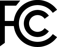"FCC mark, ""Declaration of Conformity"""