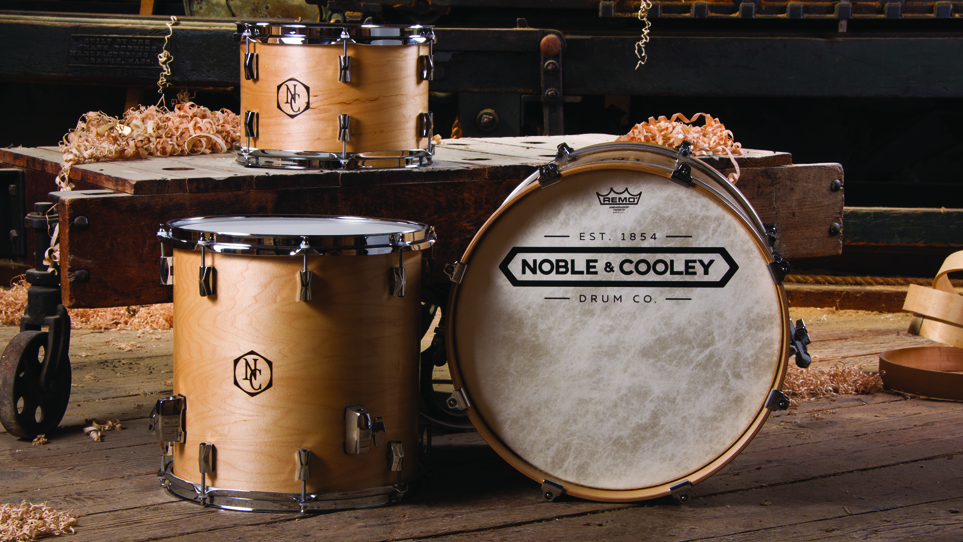 CD Maple Natural Oil With Wood Burn Logo and Fiberskyn Heads