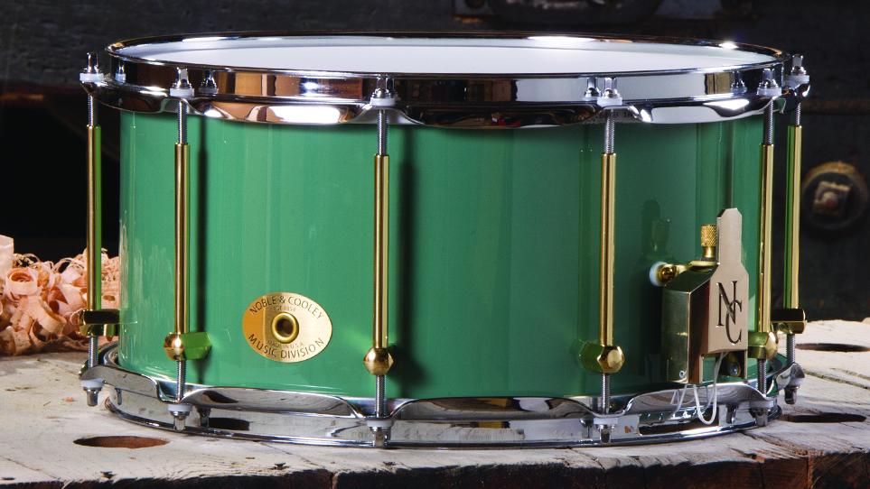 "7 x 14 Maple ""Green Monster"" Paint"