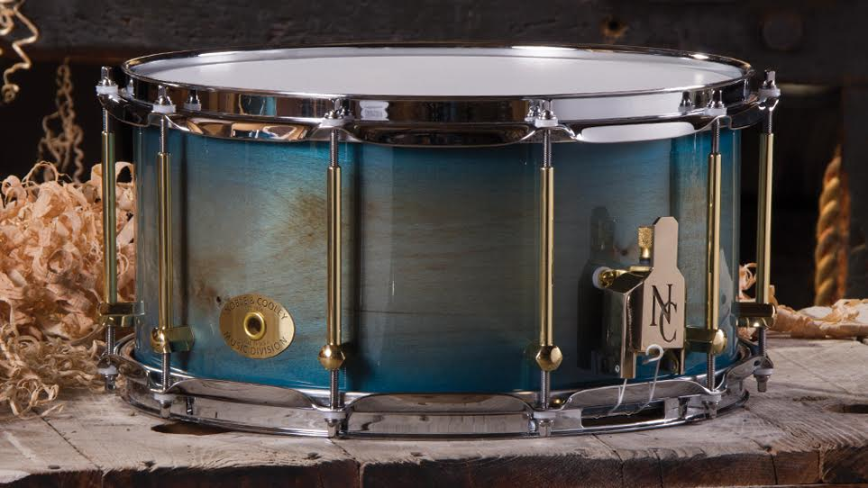 7 x 14 Beech Distressed Translucent Blue