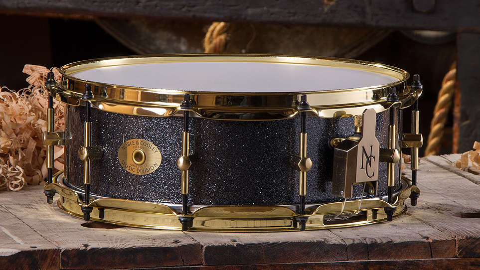 5 x 14 Maple Hematite with Gold Hardware