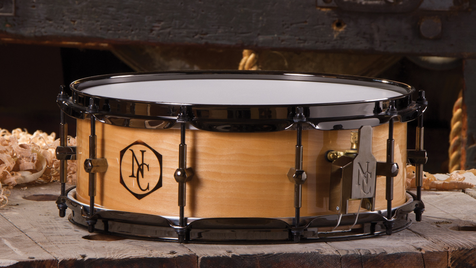 5 x 14 Beech Natural With Burn Logo and Black Hardware