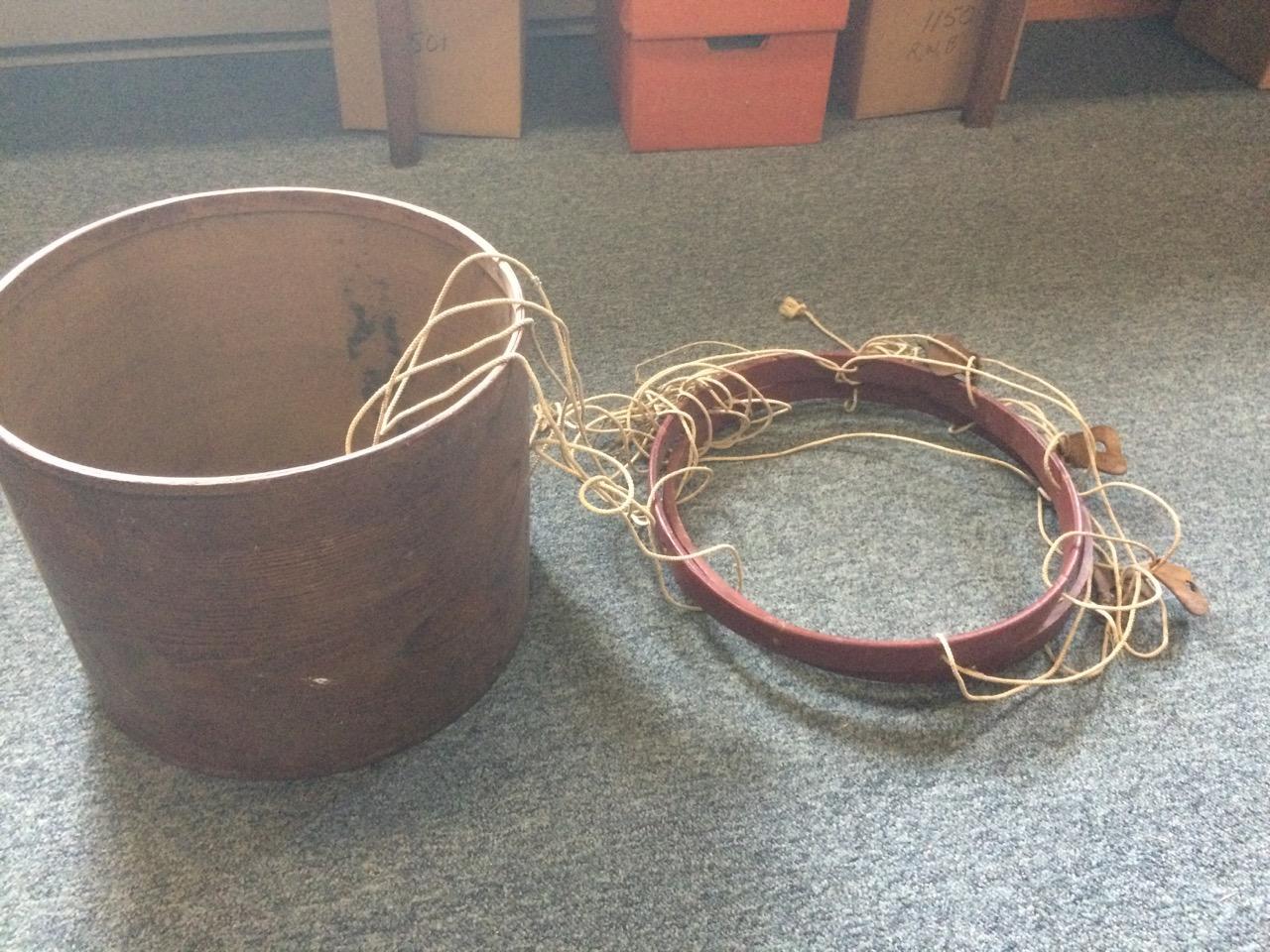 Civil War Era Marching Drum In Process