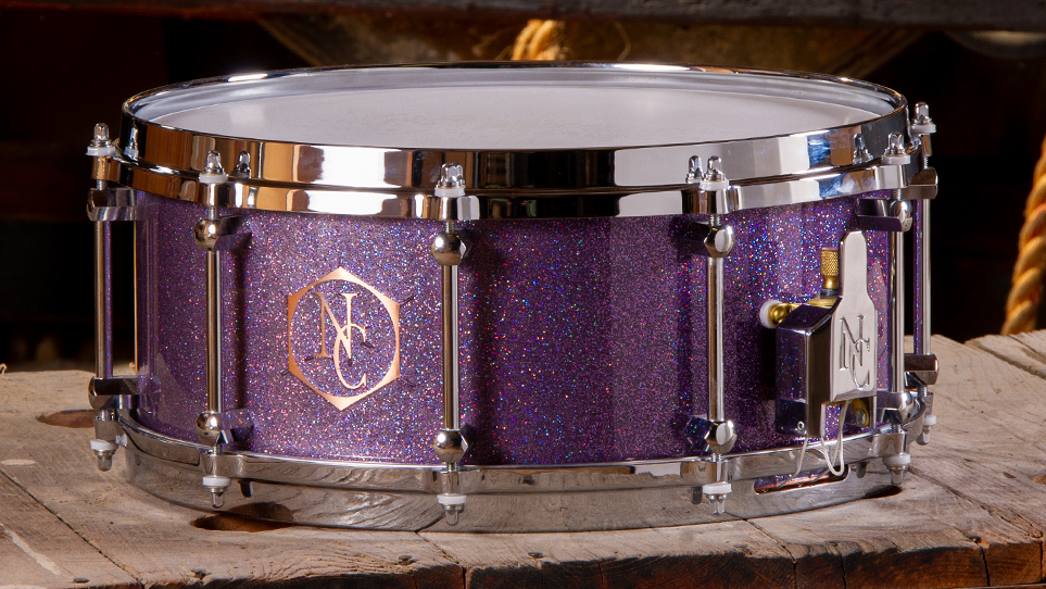 6 x 14 Copper With Purple Flake Paint and Reveal Logo