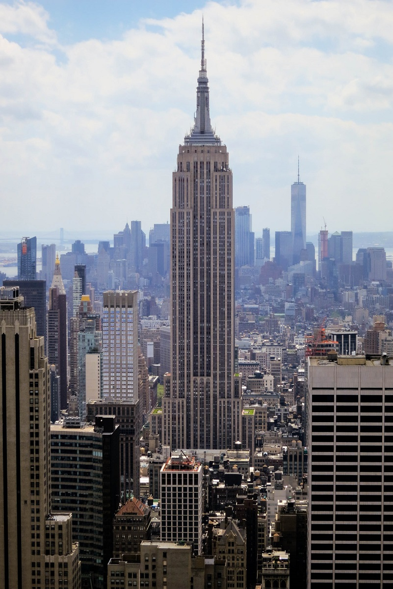 Stunning view from the Top of the Rock