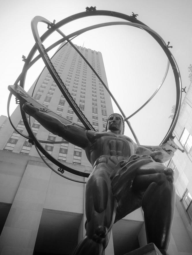 Rockefeller Center's Atlas