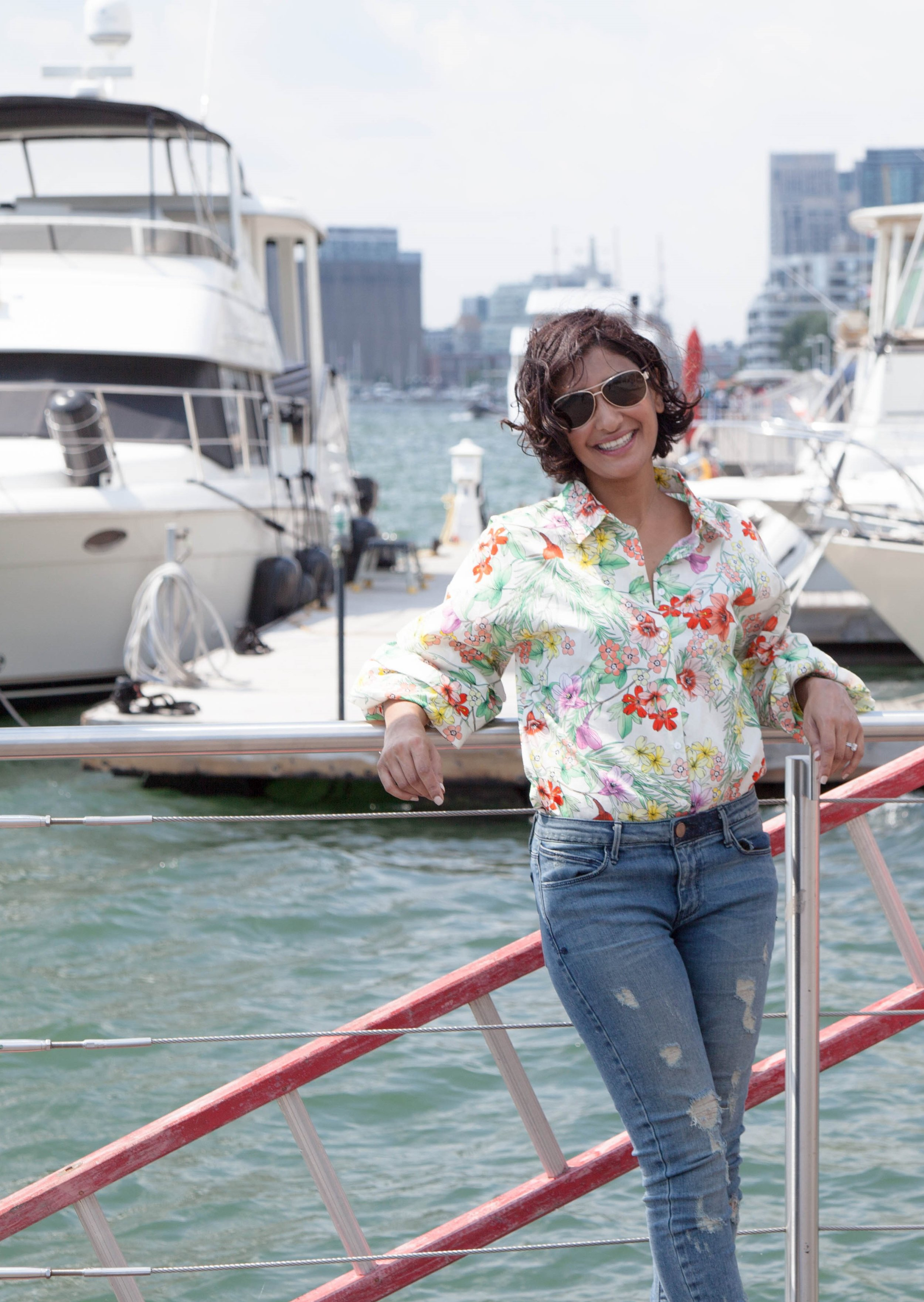 florals make the perfect transition outfit by that saudia chick