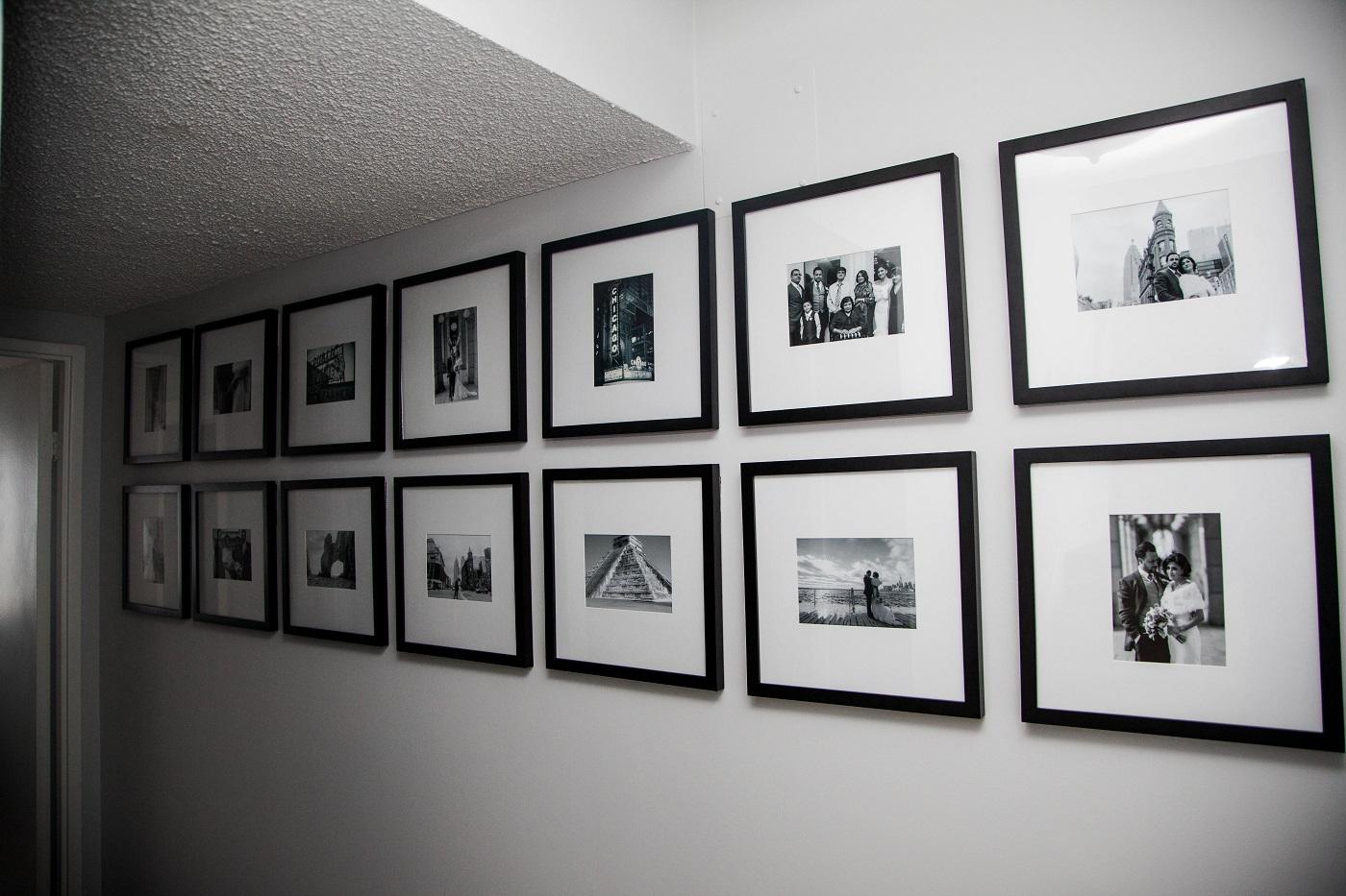 final gallery wall