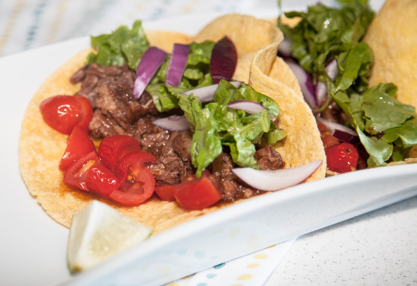 delicious home style tacos