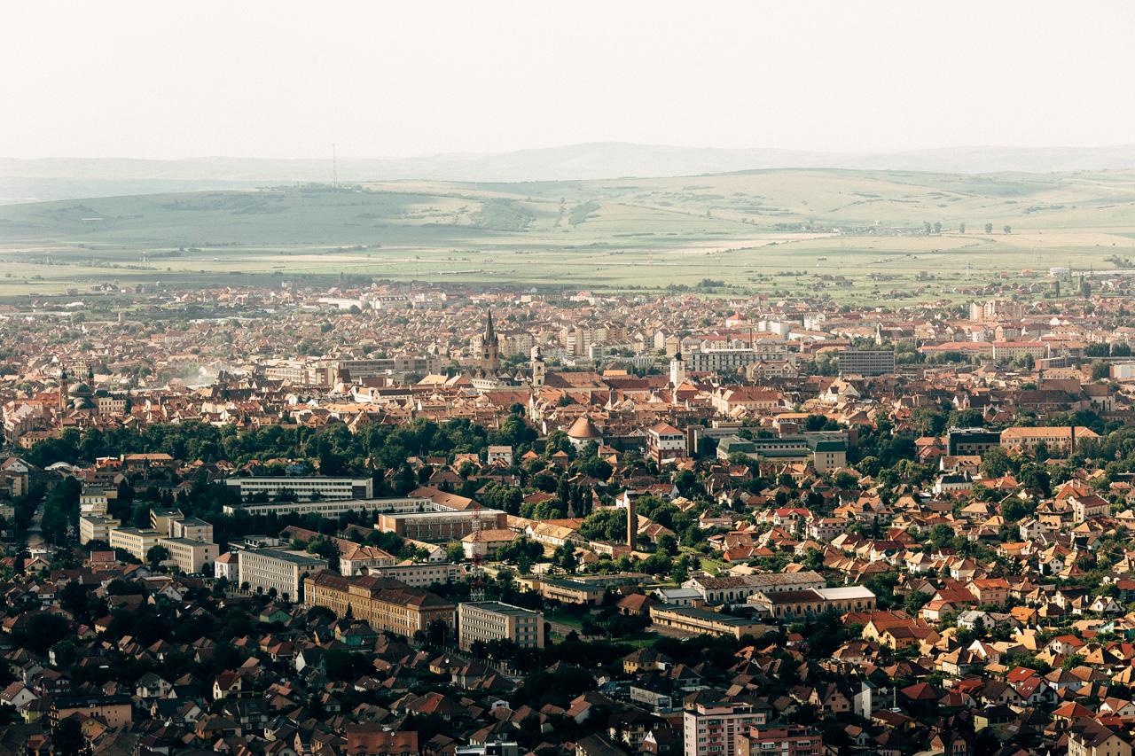 Hermanstadt Aerial