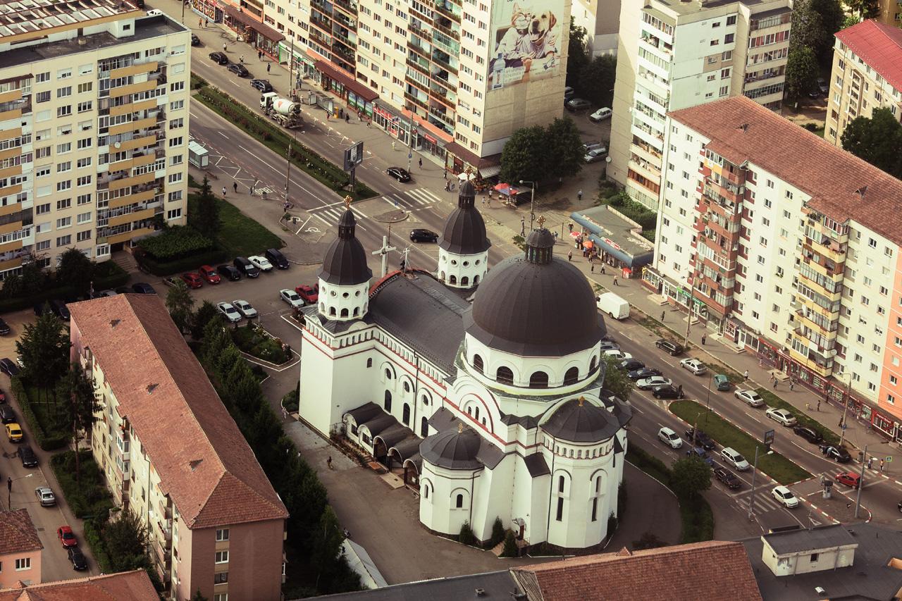 The Grand Orthdox Church of Sibiu