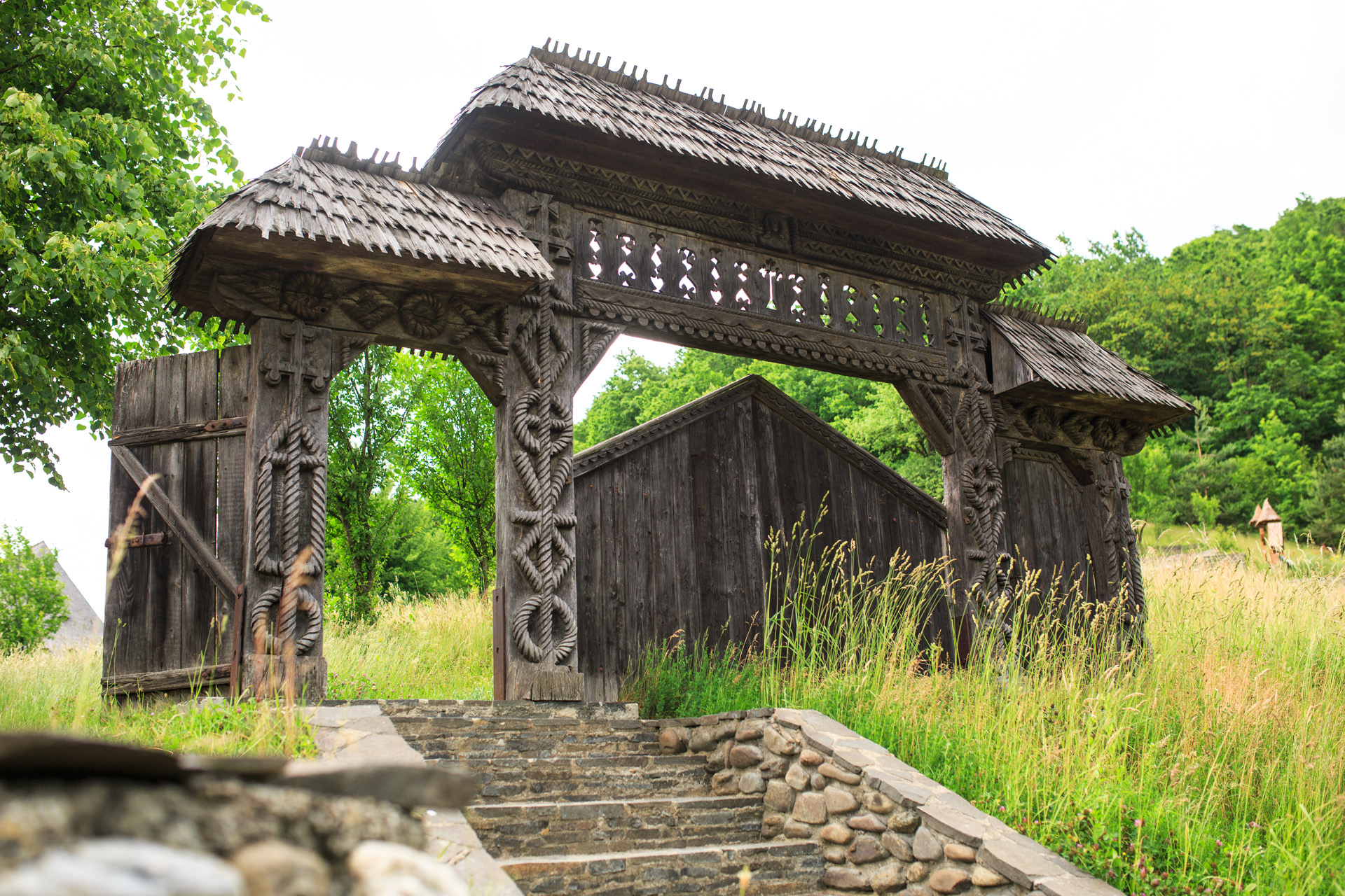 Front Gate in the Maramuresean Style
