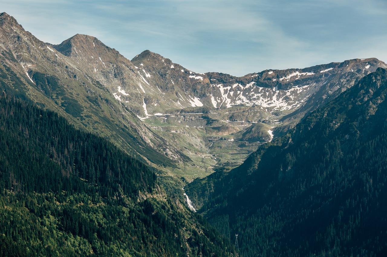 Transfagarasean Pass
