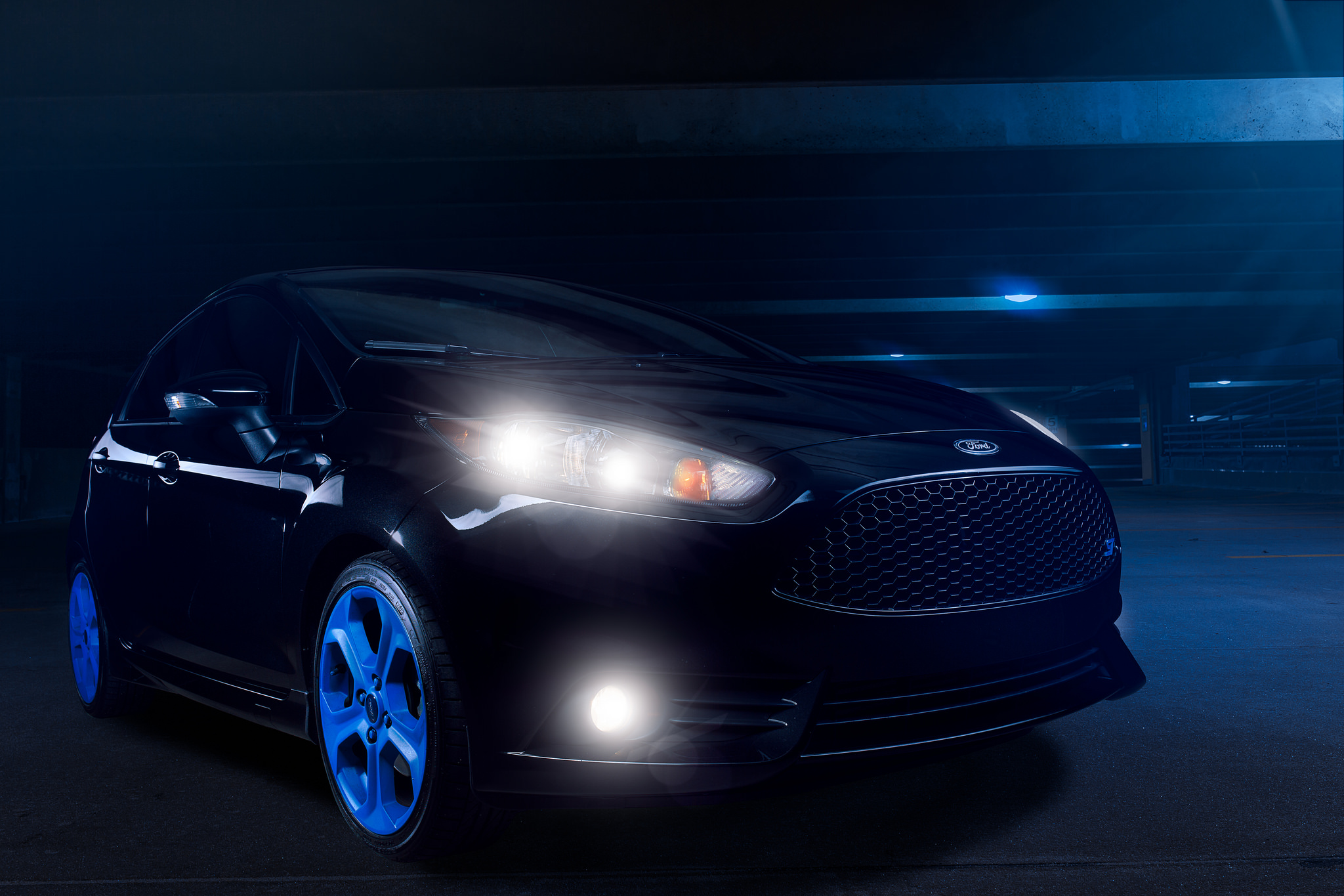 Ford Fiesta ST Automotive Photography