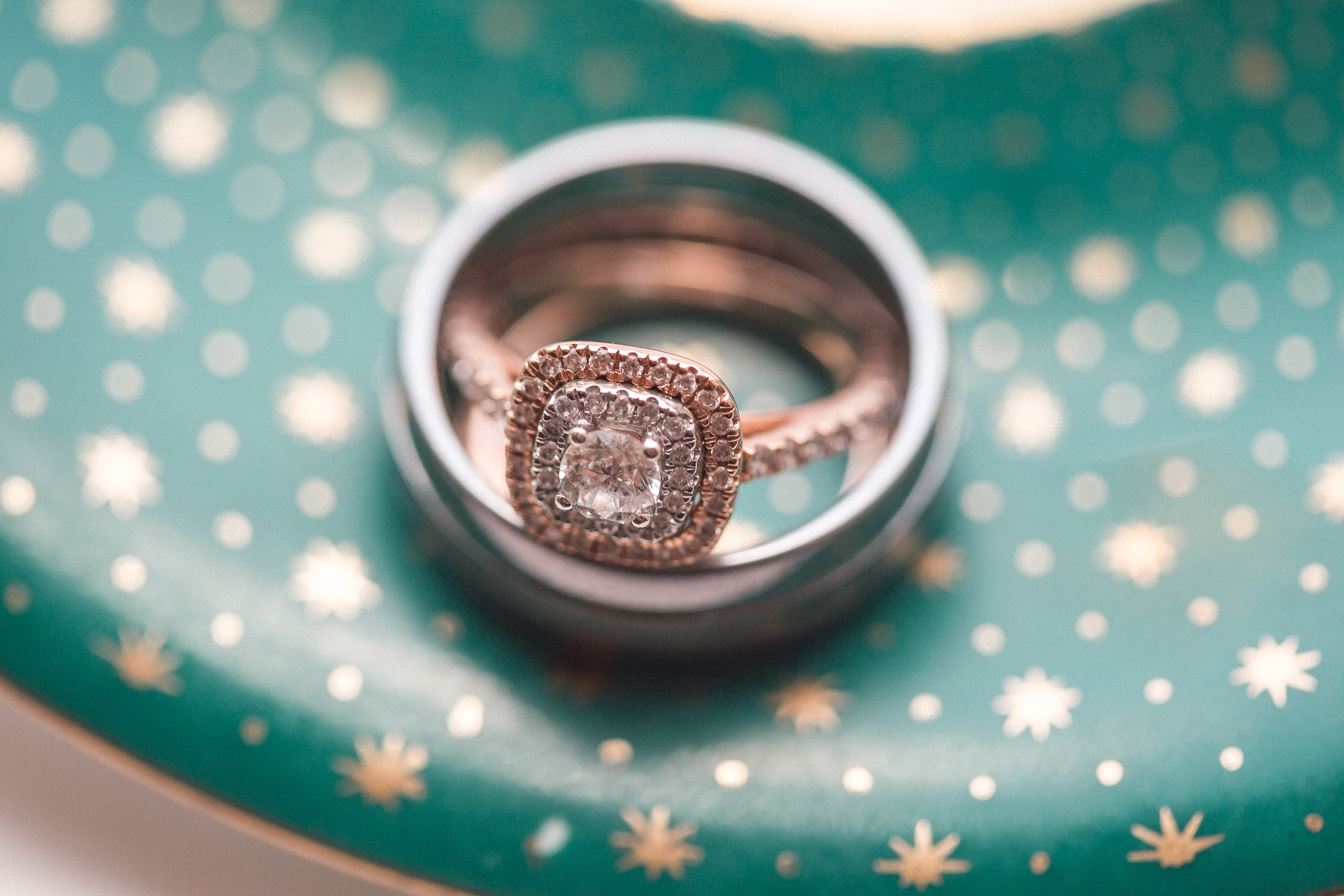 Wedding Editorial Rings