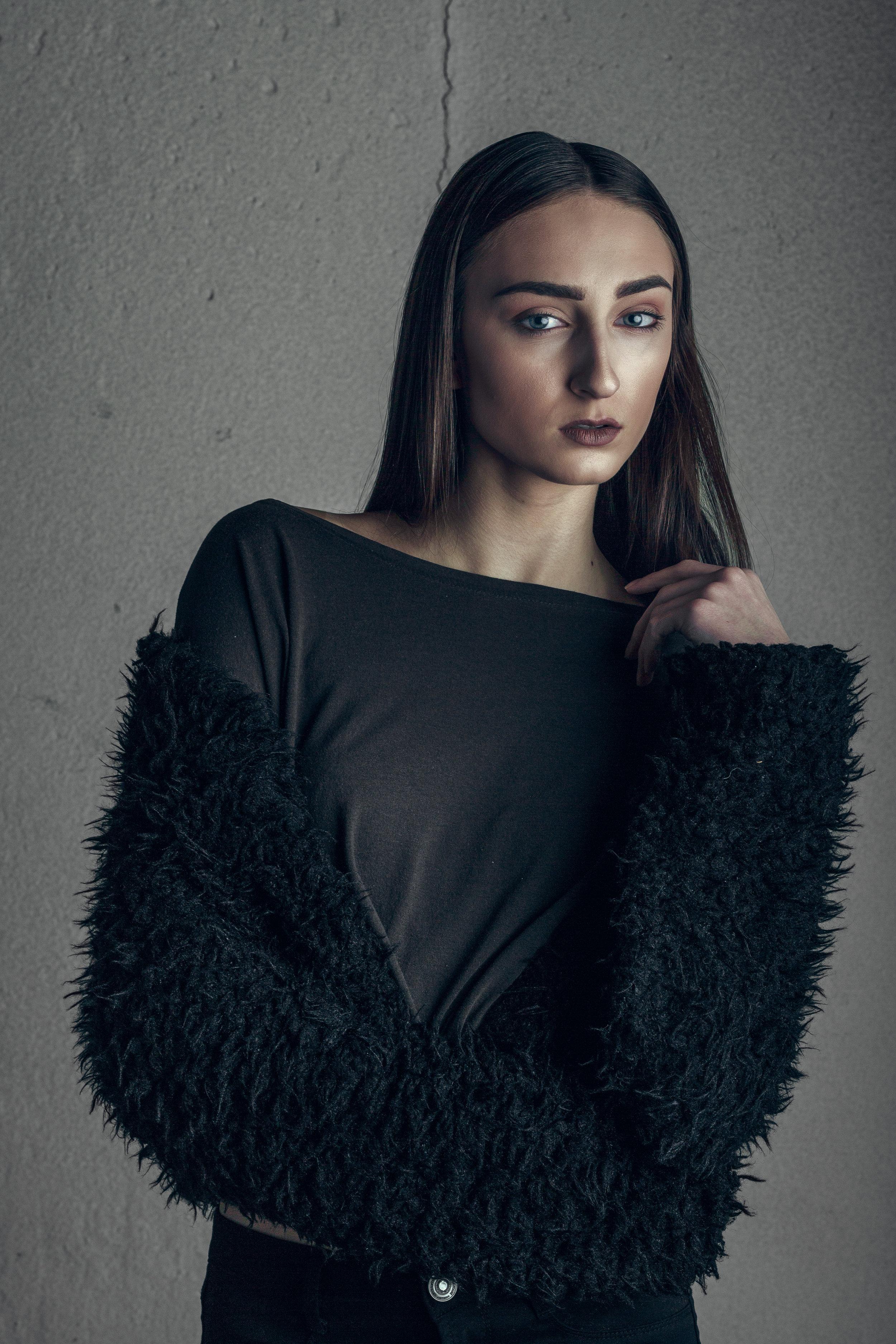 Jenna High Fashion Portrait