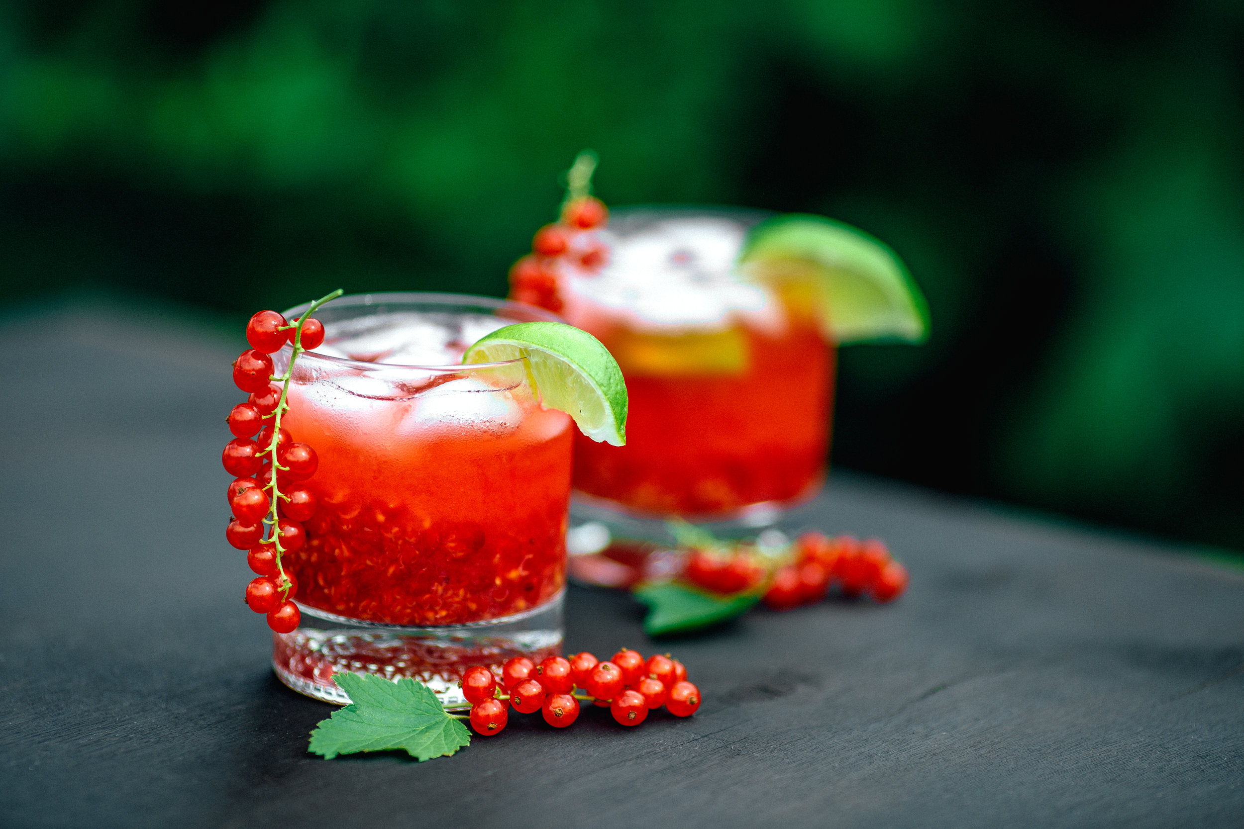 Red Currant Caipirinha
