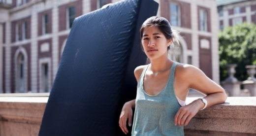 Emily Sulkowicz. Photo by: Kristina Budelis for the Guardian.