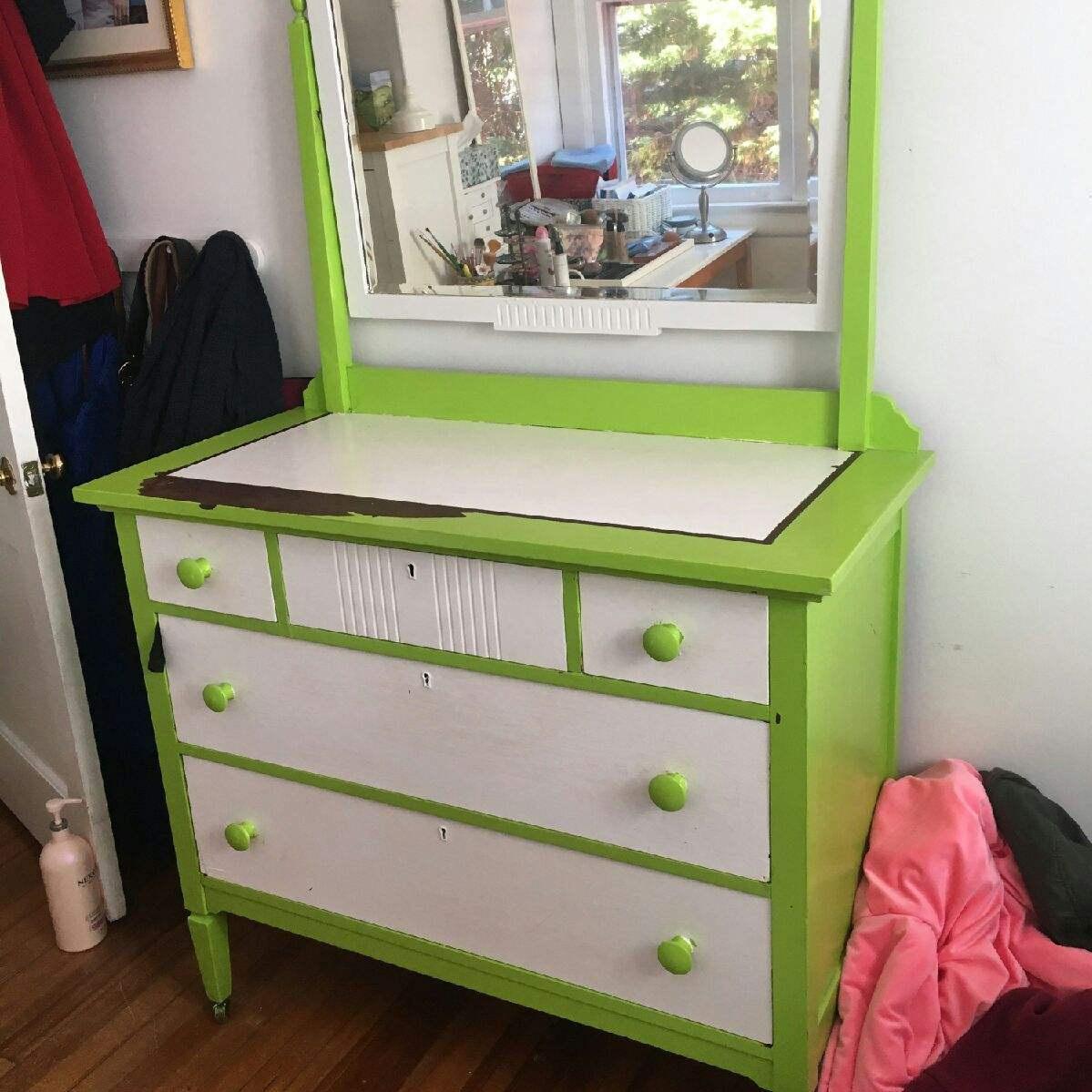 Before Dresser & Mirror