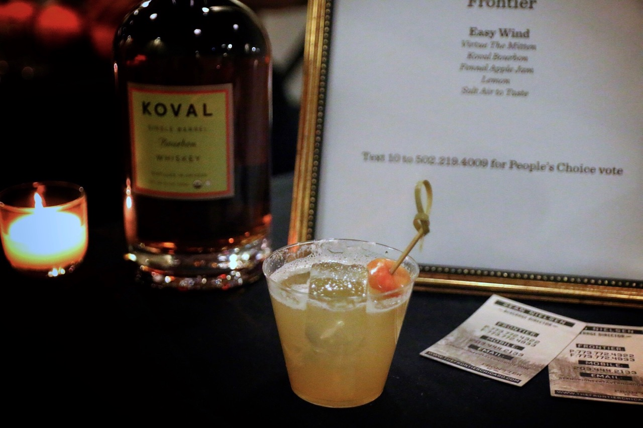 "The ""Easy Wind"" cocktail took the ""People's Choice"" award, determined by popular vote."