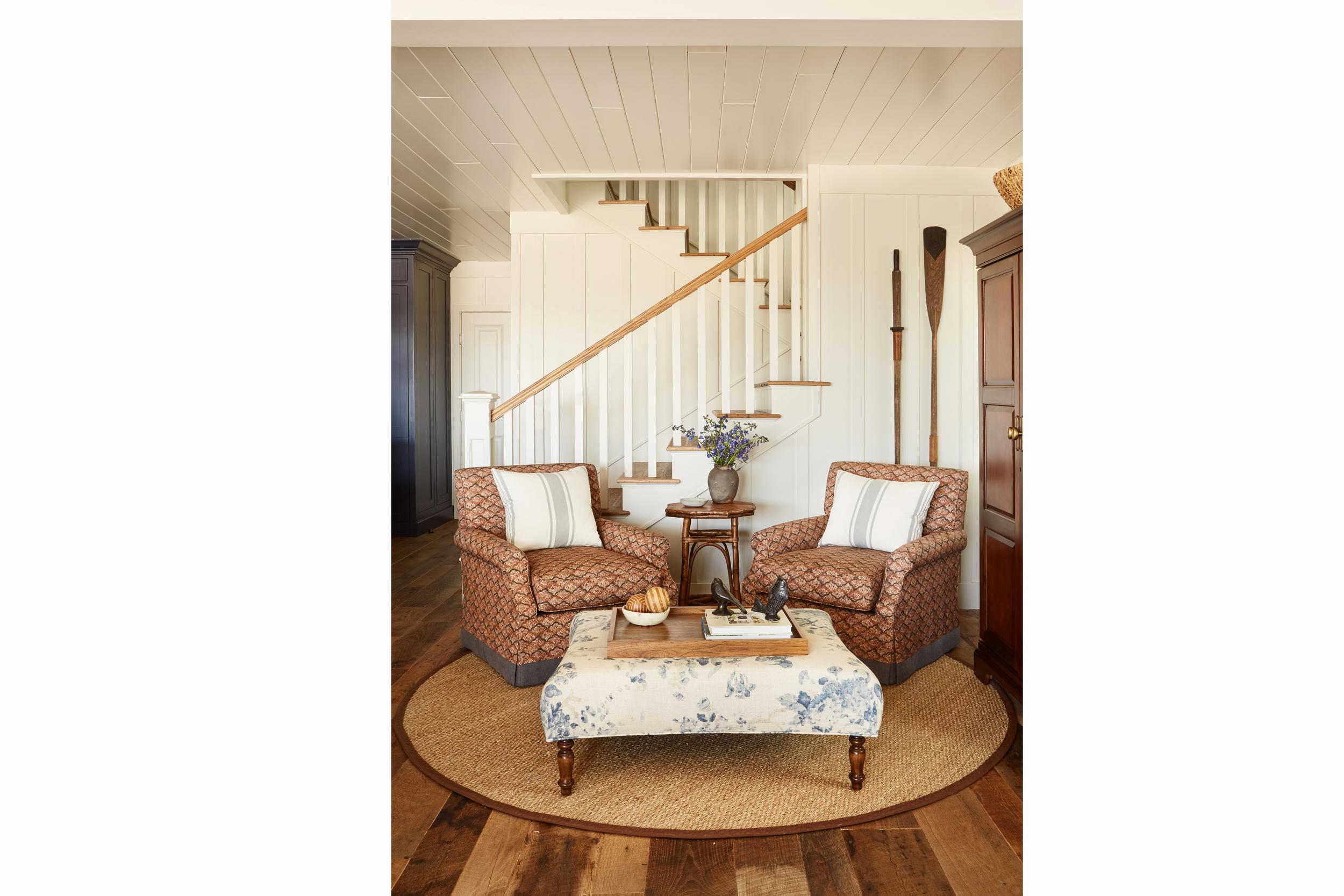 newport beach interior designer brittany stiles blue kitchen nautical dining room farm table antique.jpg
