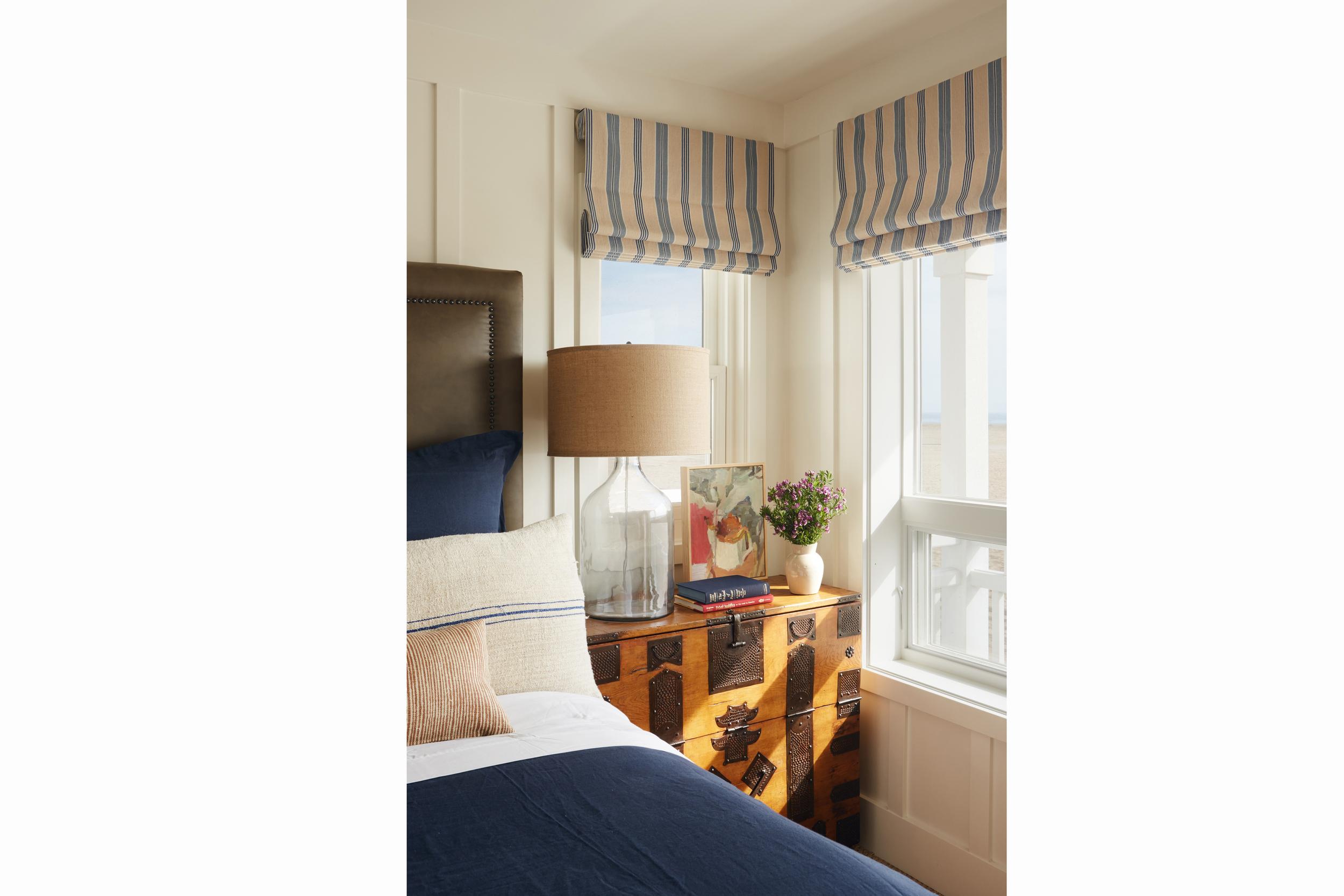 newport beach interior designer brittany stiles blue kitchen nautical stripes bedroom.jpg