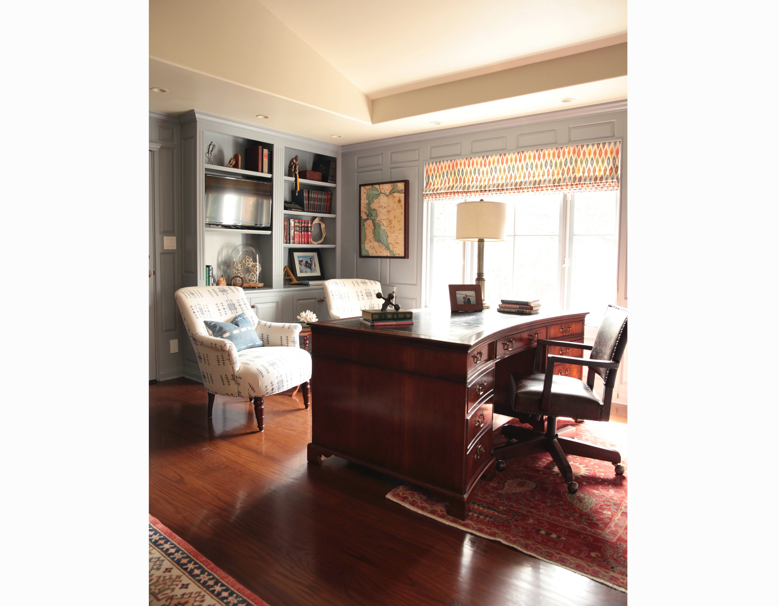 corona del mar vintage eclectic interior design orange county brittany stiles office.jpg