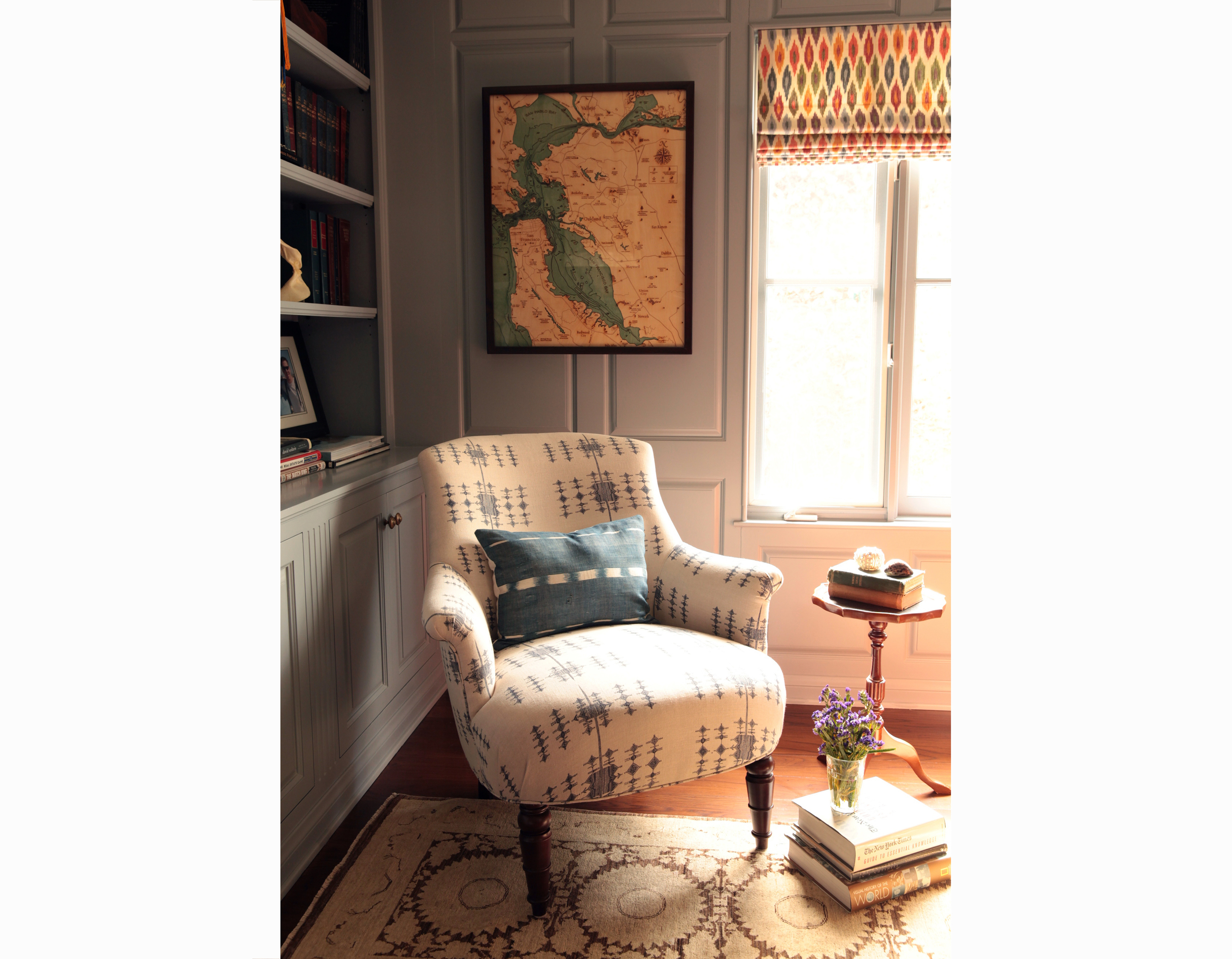 corona del mar vintage eclectic interior design orange county brittany stiles office2.jpg