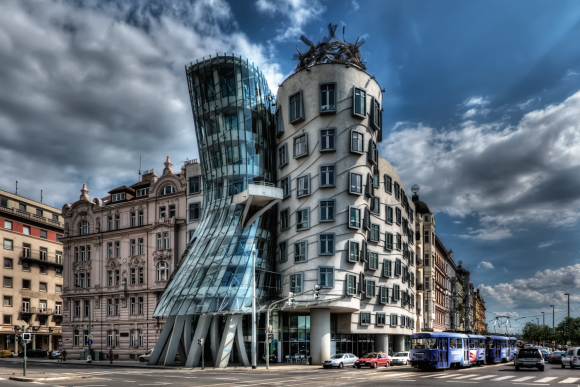 Dancing House, Frank Gehry,Prague, Czech Republic