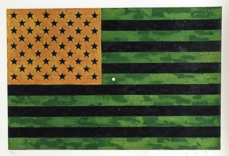 Flag (Moratorium), Jasper Johns, Christie's Auction House, $15,000