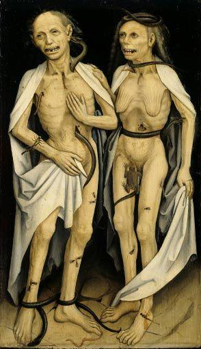 The Dead Lovers, Anonymous Swabian Artist, 1470