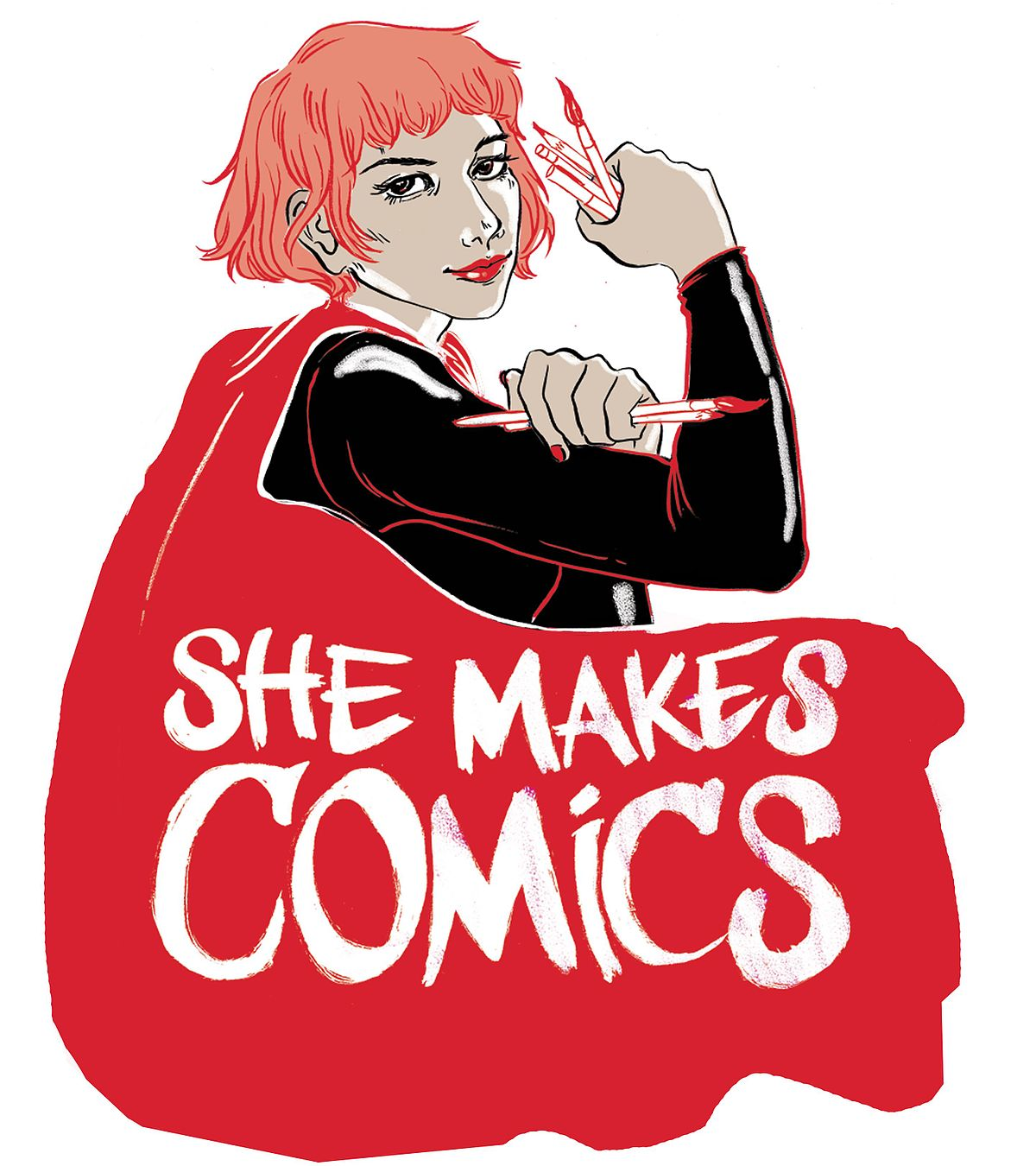 She Makes Comics - The Untold Story of Women in ComicsOften forgotten or ignored, women creators have a rich history of achievement in comic books, a business and culture where some gender biases persist.Available Now on NETFLIX