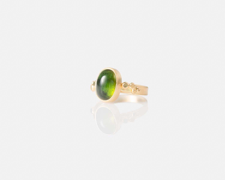 Green Tourmaline Cabochon Ribbon Ring-056.jpg