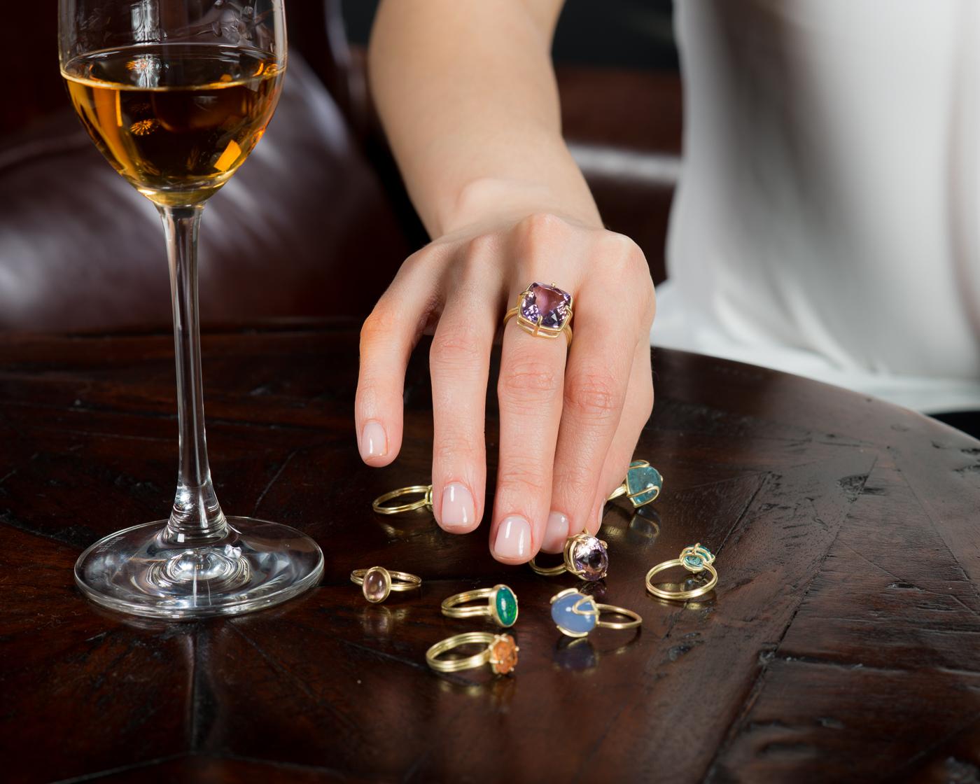 Amethyst-Ametrine-Cushion-Gold-Ring