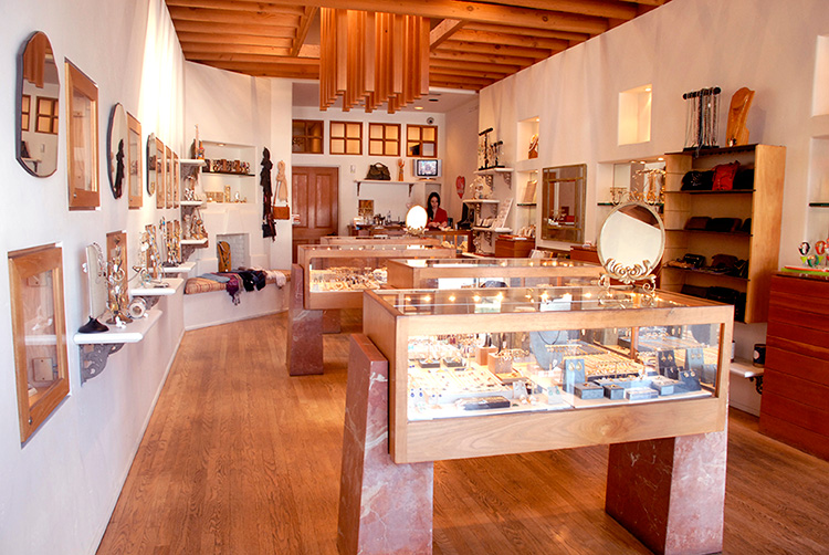 Moondance Jewelry Gallery is located at 1530 Montana Ave.
