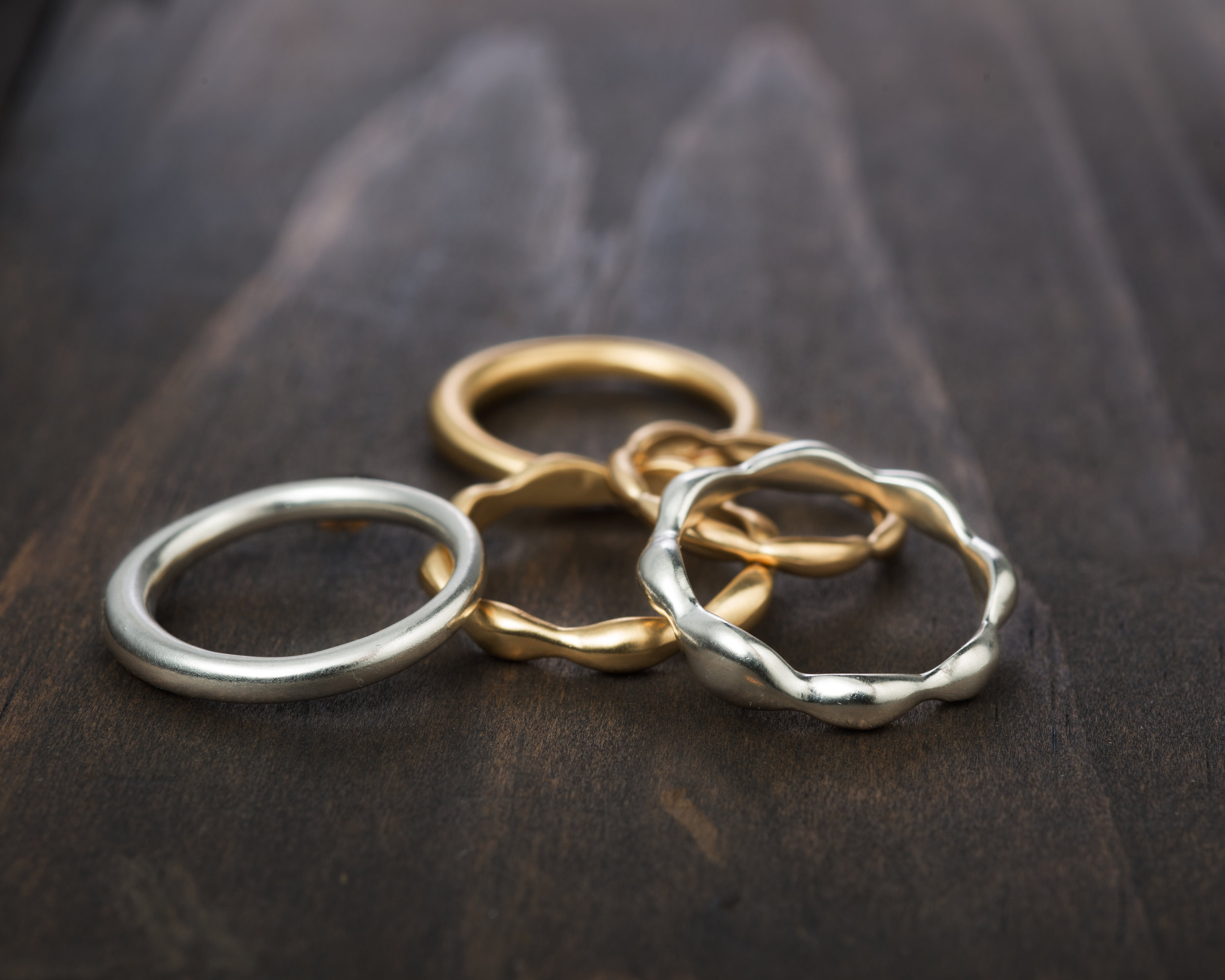 Made to order wedding bands.