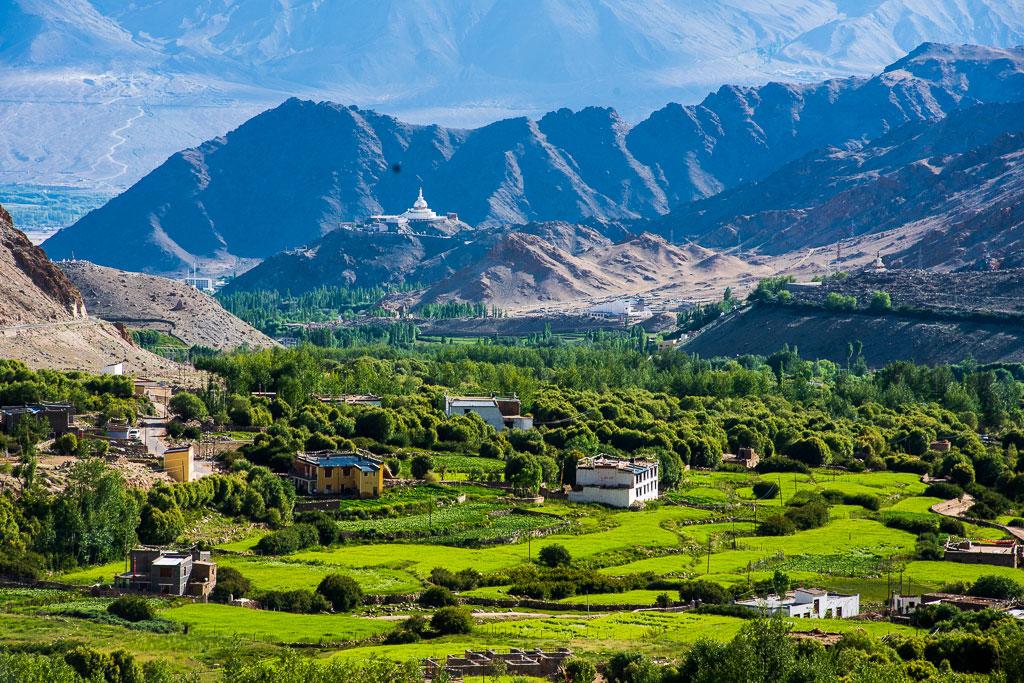 Leh, the ancient capital city of Ladakh