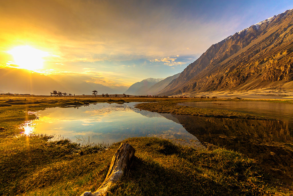 Sunrise at Nubra Valley