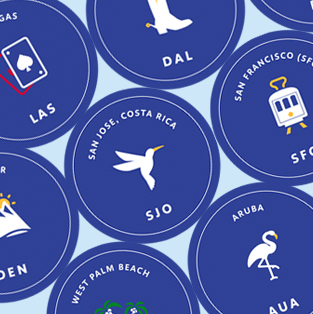 Southwest Airlines Brand Iconography