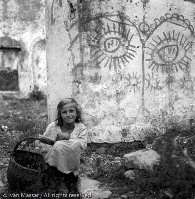 What has she seen? Belgrade, Yugoslavia, 1950.